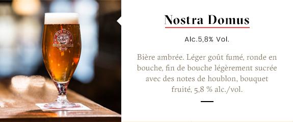 Domus Brauhaus beers Nostra Domus